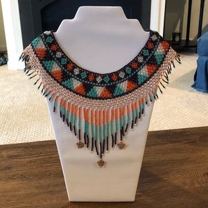 Beautiful Guatemalan handmade beaded necklace!